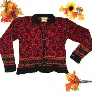 Dale of Norway Sweaters - Dale of Norway Pure Wool ButtonUp Cardigan Sweater